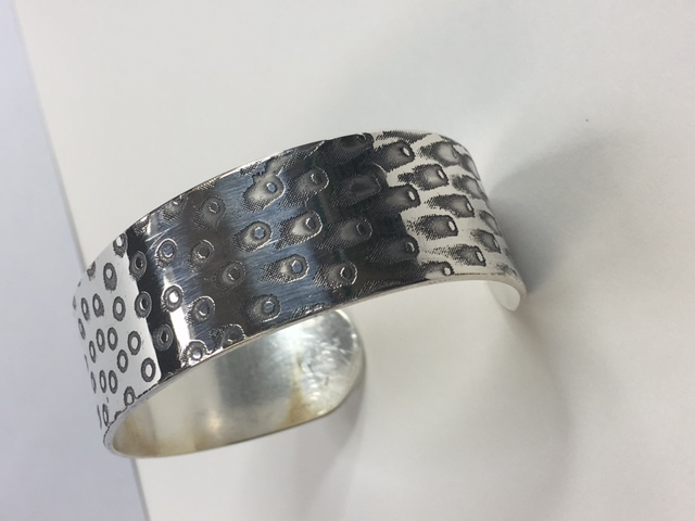 Bangle made from silver, Hertford