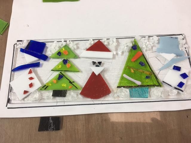 Fused Glass Christmas