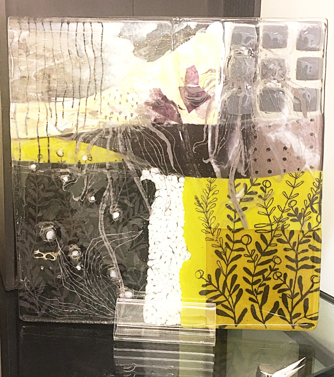 Screen Printing/Fused Glass Herford
