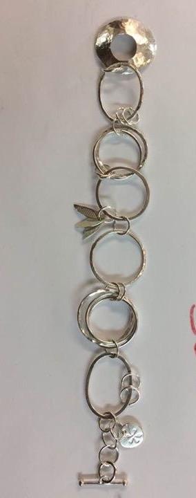 Beginners silver jewellery bracelet