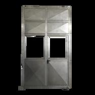 Puerta de Acero