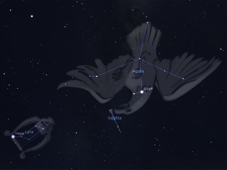 AQUILA - CONSTELLATION OF THE MONTH