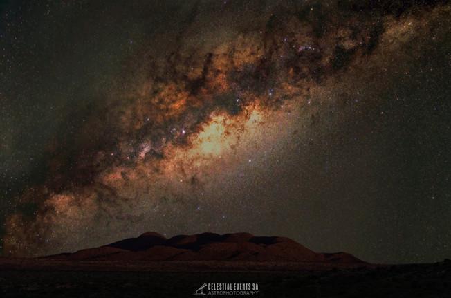Milky Way over Tswalu