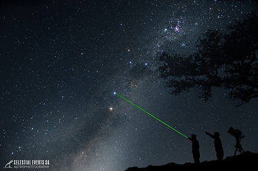 Night Sky Safari with Laser Pointer