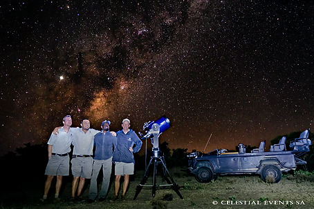 Astronomy Training at Makanyi Privtae Game lodge