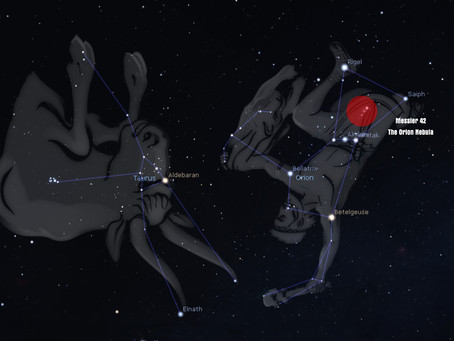 Orion - Constellation of the Month