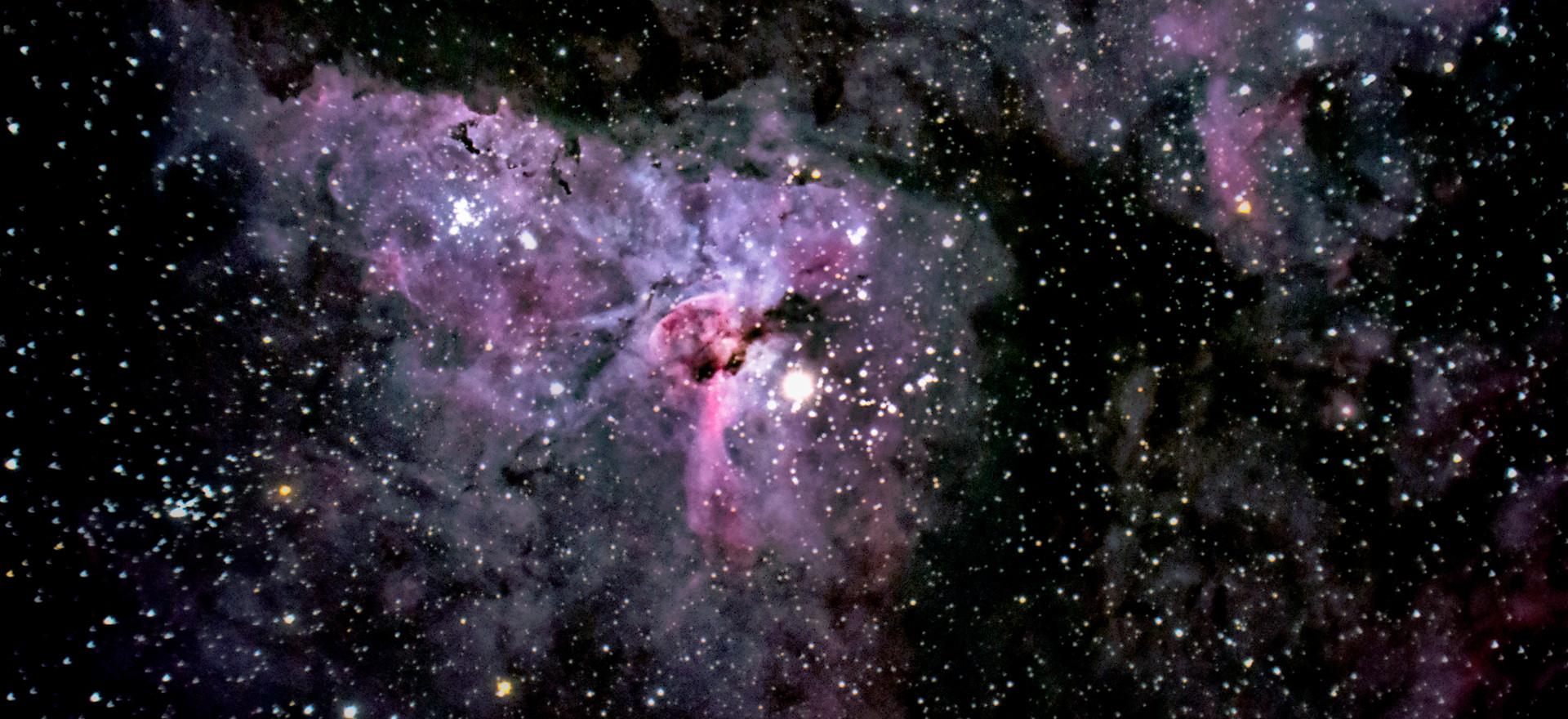 Eta Carina and the Keyhole Nebula