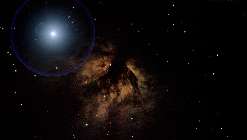 The Flame Nebula in Orion