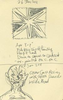 Sketchbook 26 Jan. 2011