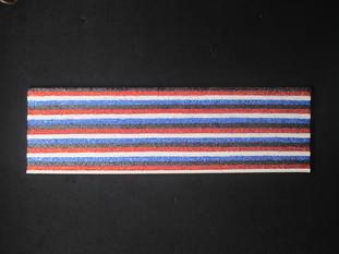 Stripes (Black Red White Blue) 2011