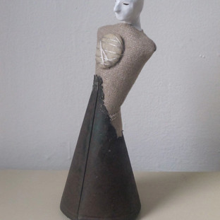 Cone Figure with Stone on Chest 2013