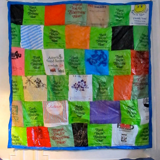 Plastic Bag Quilt 2017