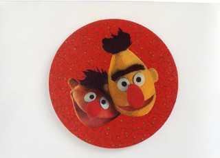 Bert and Ernie for F and H 2001