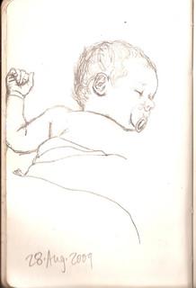 Sketchbook 28 Aug. 2009