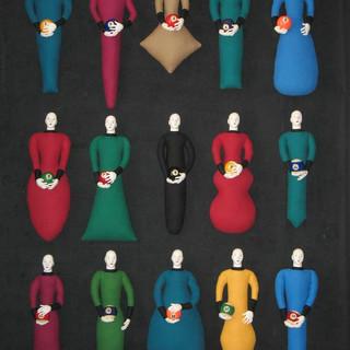 Ball Dolls 1 through 15 2008