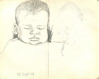 Sketchbook 18 Sept. 2009