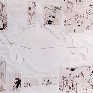 Ohne Titel (Vögel) 1992