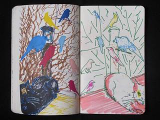 Art Library Sketchbook (Birds) 2011