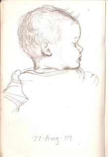 Sketchbook 22 Aug. 2009