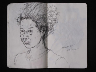 Art Library Sketchbook (Almost 40!) 2011