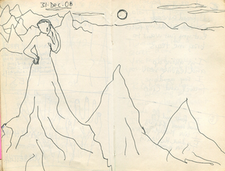 Sketchbook 31 Dec. 2008