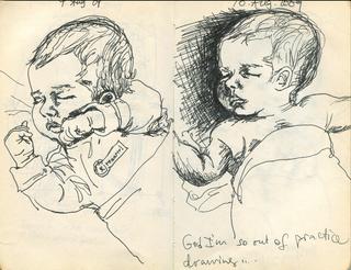 Sketchbook 9 & 10 Aug. 2009