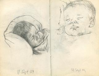Sketchbook 11 & 12 Sept. 2009