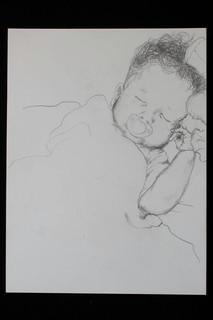 H sleeping with Binky 2010