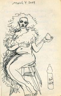 Sketchbook 4 March 2009