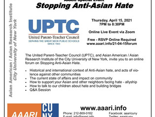 Stopping Anti-Asian Hate