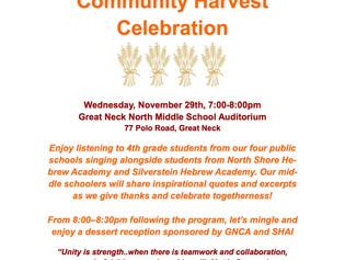 Community Harvest Celebration