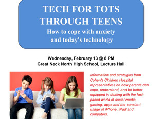 Tech for Tots Through Teens: How to Cope with Anxiety and Today's technology