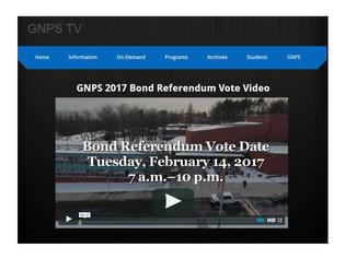 GNPS 2017 Bond Referendum Vote Video