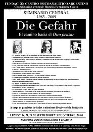 SEMINARIO CENTRAL 2009