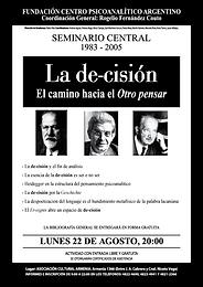 SEMINARIO CENTRAL 2005