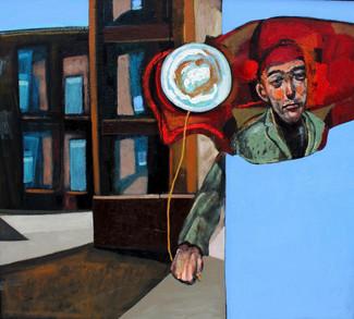 Ciudad desolada (2016) - óleo sobre tela