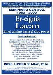 SEMINARIO CENTRAL 2000