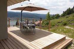 Alise Haut, grande terrasse en bois