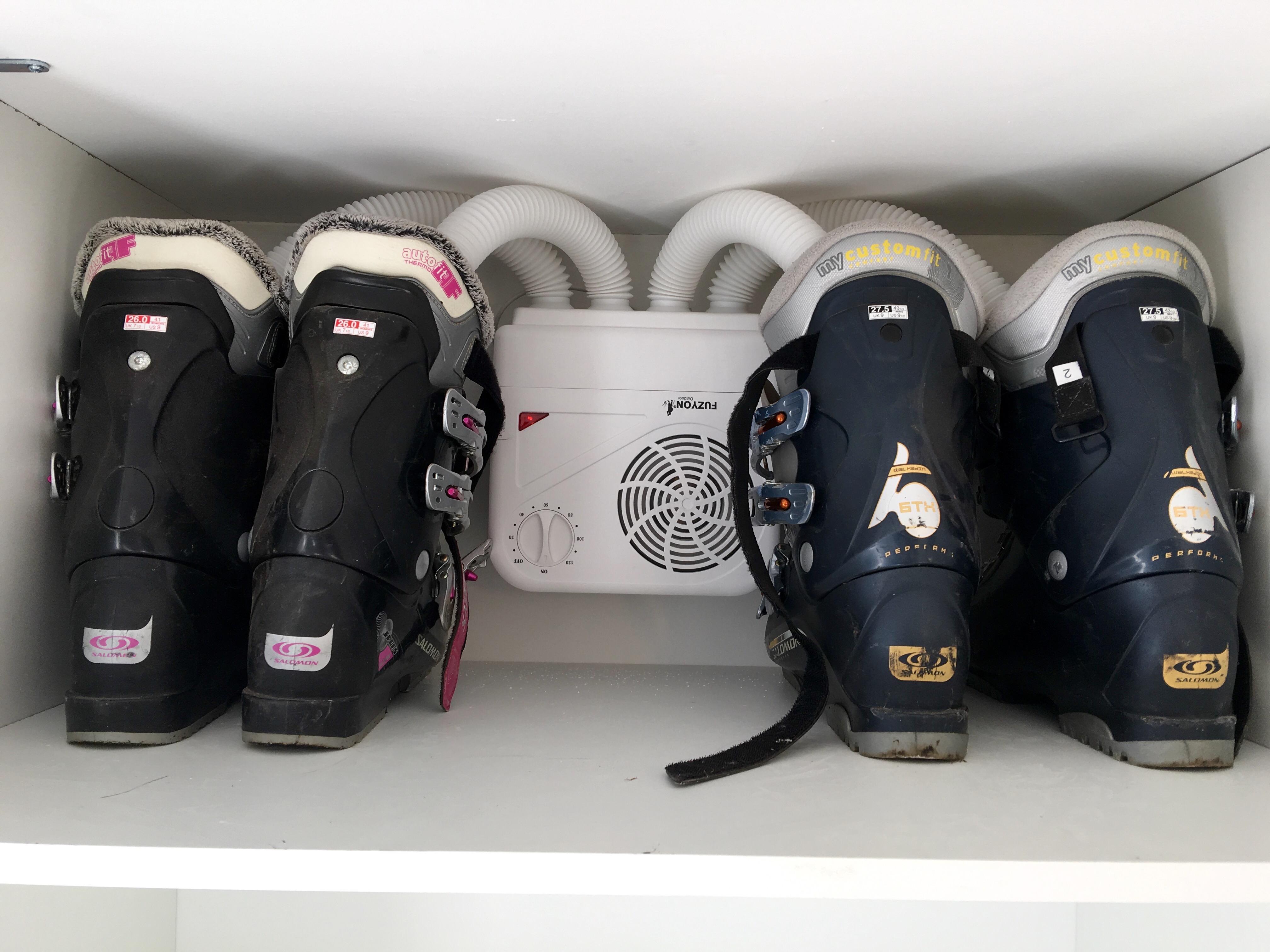Les Gîtes de l'Alise, chauffe-bottes