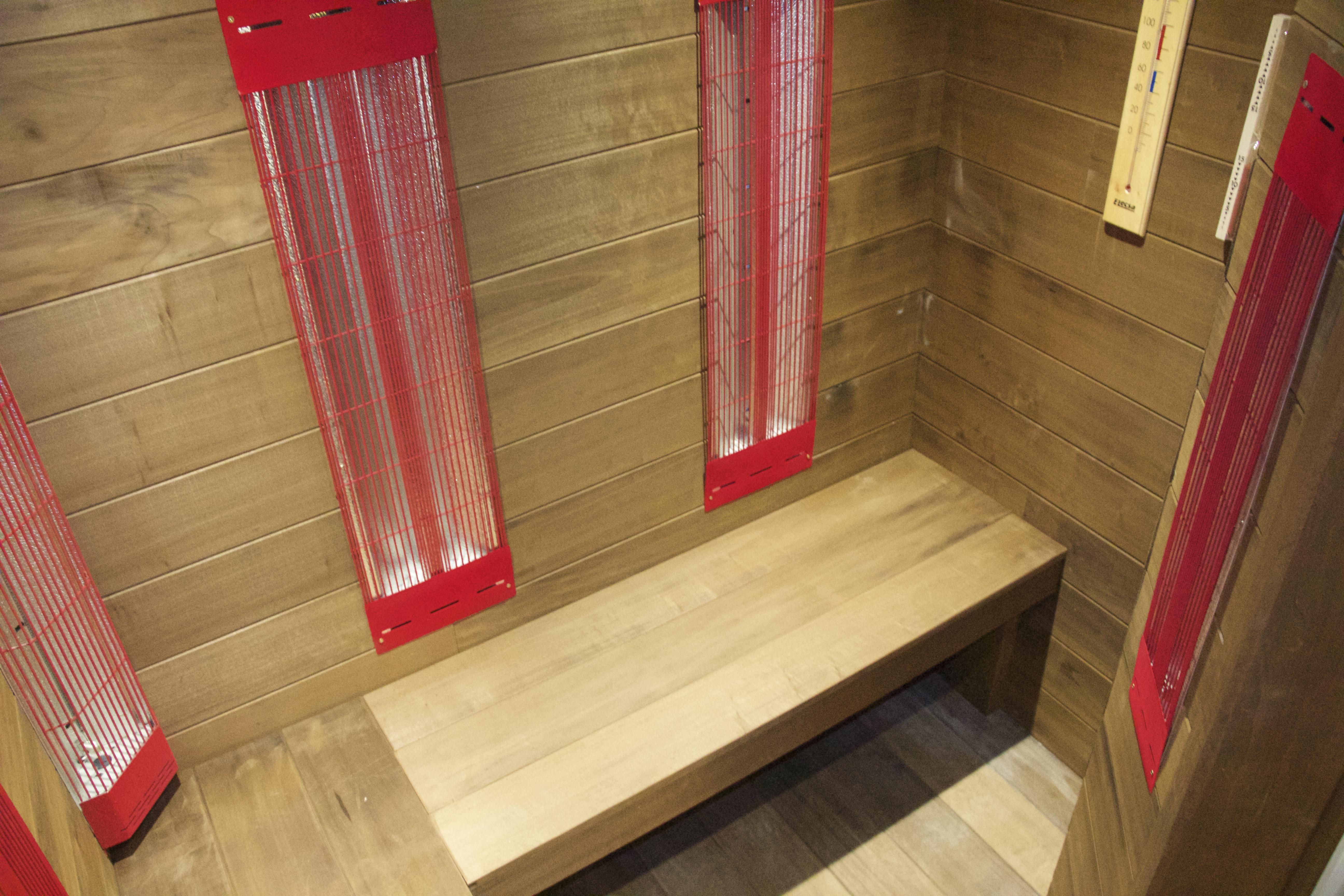 Les Gîtes de l'Alise, sauna