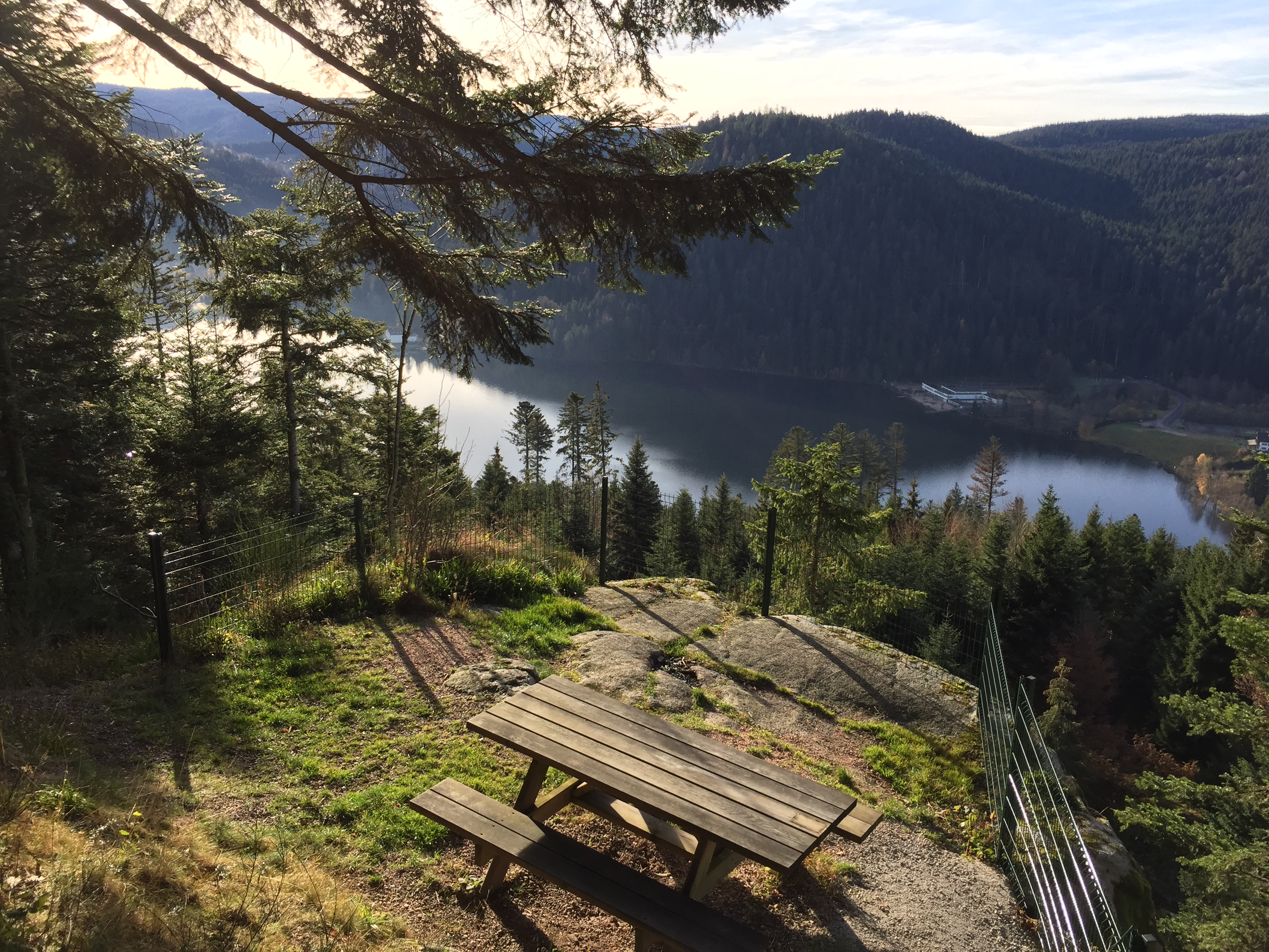 Gerardmer lake view
