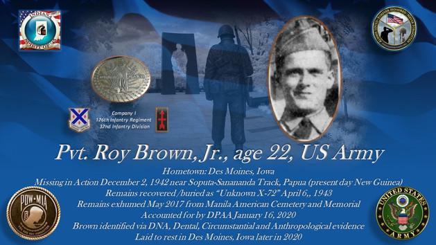 Brown Jr., Roy