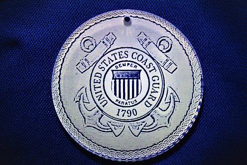"""4.0"""" US Coast Guard Medallion"""