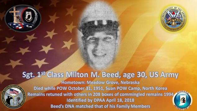 Beed, Milton M.