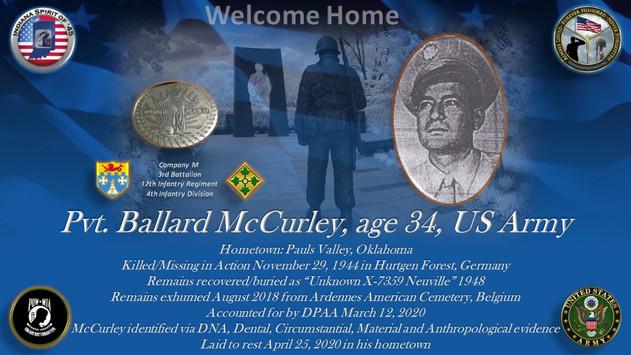 McCurley, Ballard
