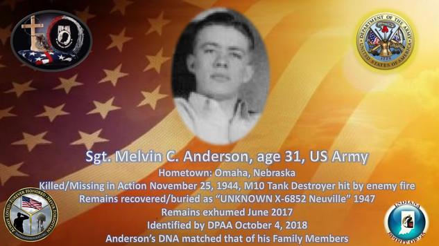 Anderson, Melvin C.