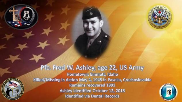 Ashley, Fred W.