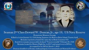 Duncan, Deward W.