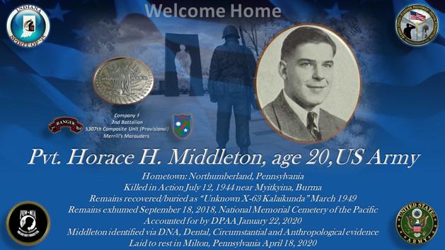 Middleton, Horace H.