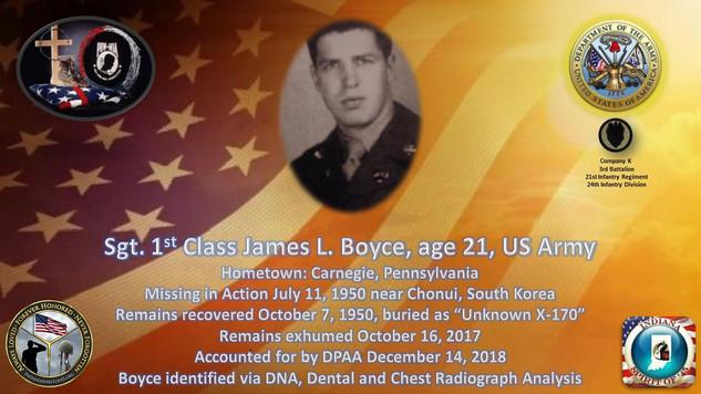 Boyce, James L.